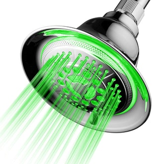 DreamSpa All-Chrome Color-Changing Showerhead