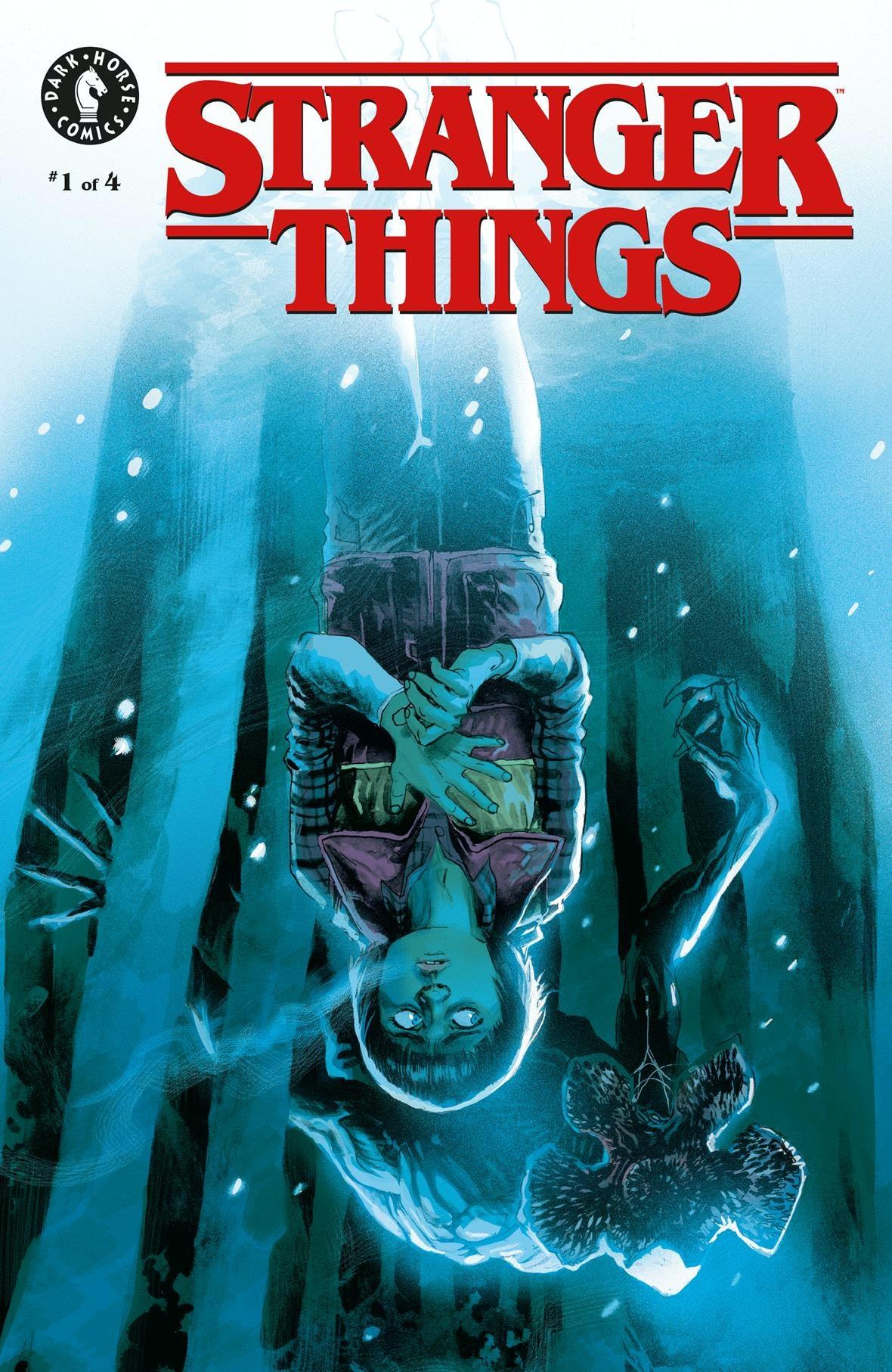 Stranger Things Comic Cover