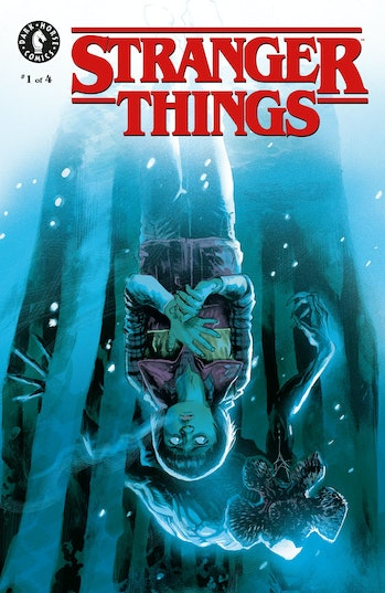 Stranger Things Comic Cover
