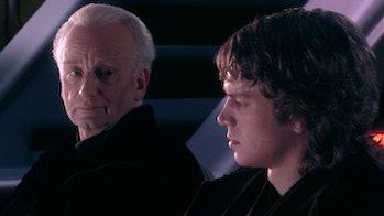 Palpatine and Anakin