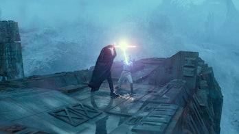 kylo ren rey duel rise of skywalker