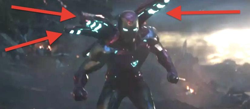 Iron Man in the latest 'Avengers: Endgame' TV spot