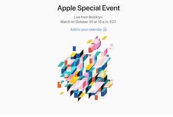 apple october event