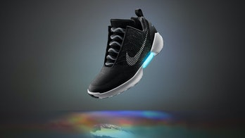 Nike self-tightening shoes