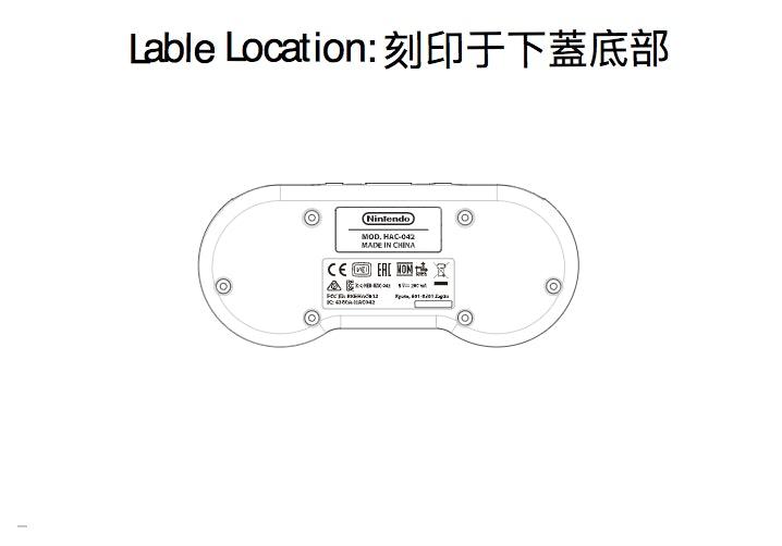 SNES Nintendo Switch Controller