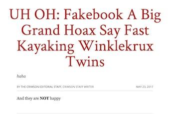 Harvard Crimson Website hacked.