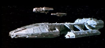The original 'Battlestar Galactica'