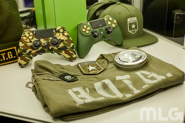 Scuf ran a contest at CWL Dallas where attendees could win gear just like this.