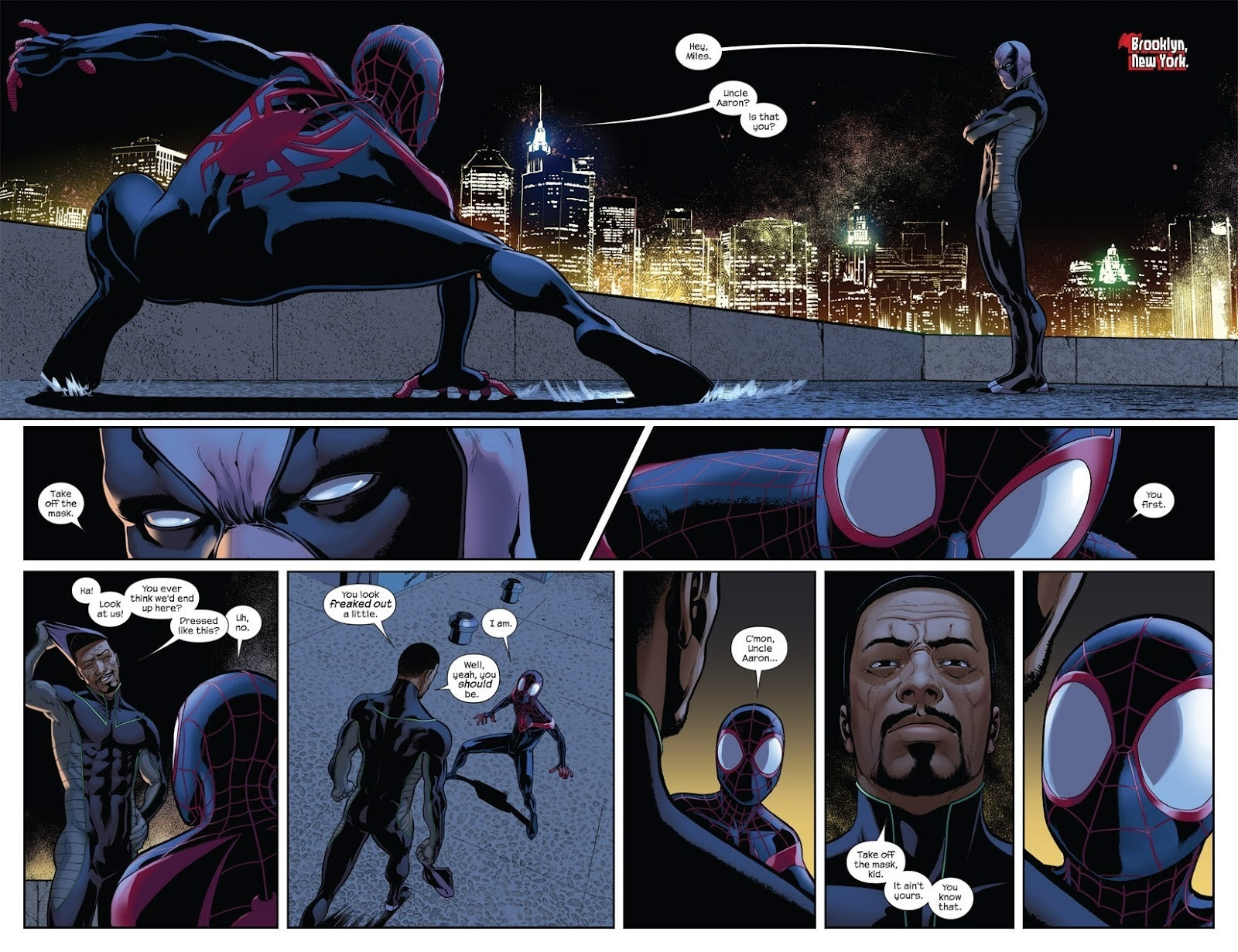Spider-Man Miles Morales Homecoming Prowler