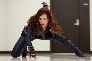Iron Man Black Widow Scarlett Johansson