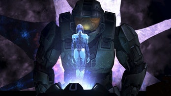 Halo 3 on the Xbox 360.