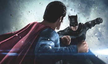 Batman V Superman fight punch