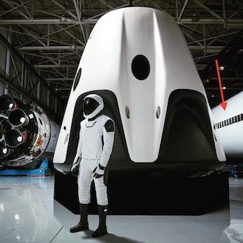 elon musk spacex spacesuit