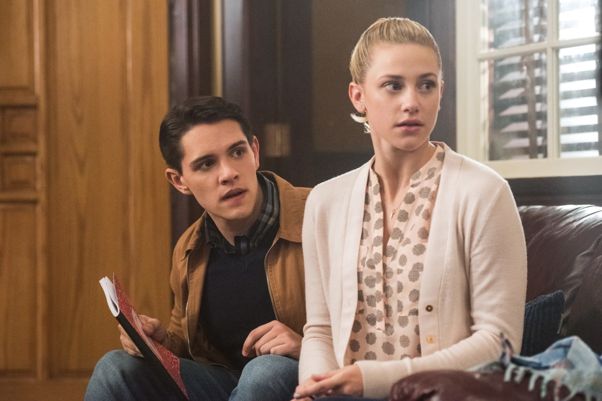 Betty and Kevin in 'Riverdale'