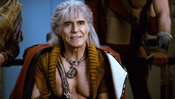 Ricardo Montalbán as Khan in 'Star Trek II: The Wratch of Khan'.