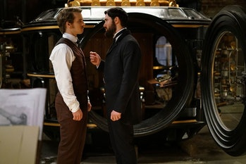 Freddie Stroma and Josh Bowman in 'Time After Time'
