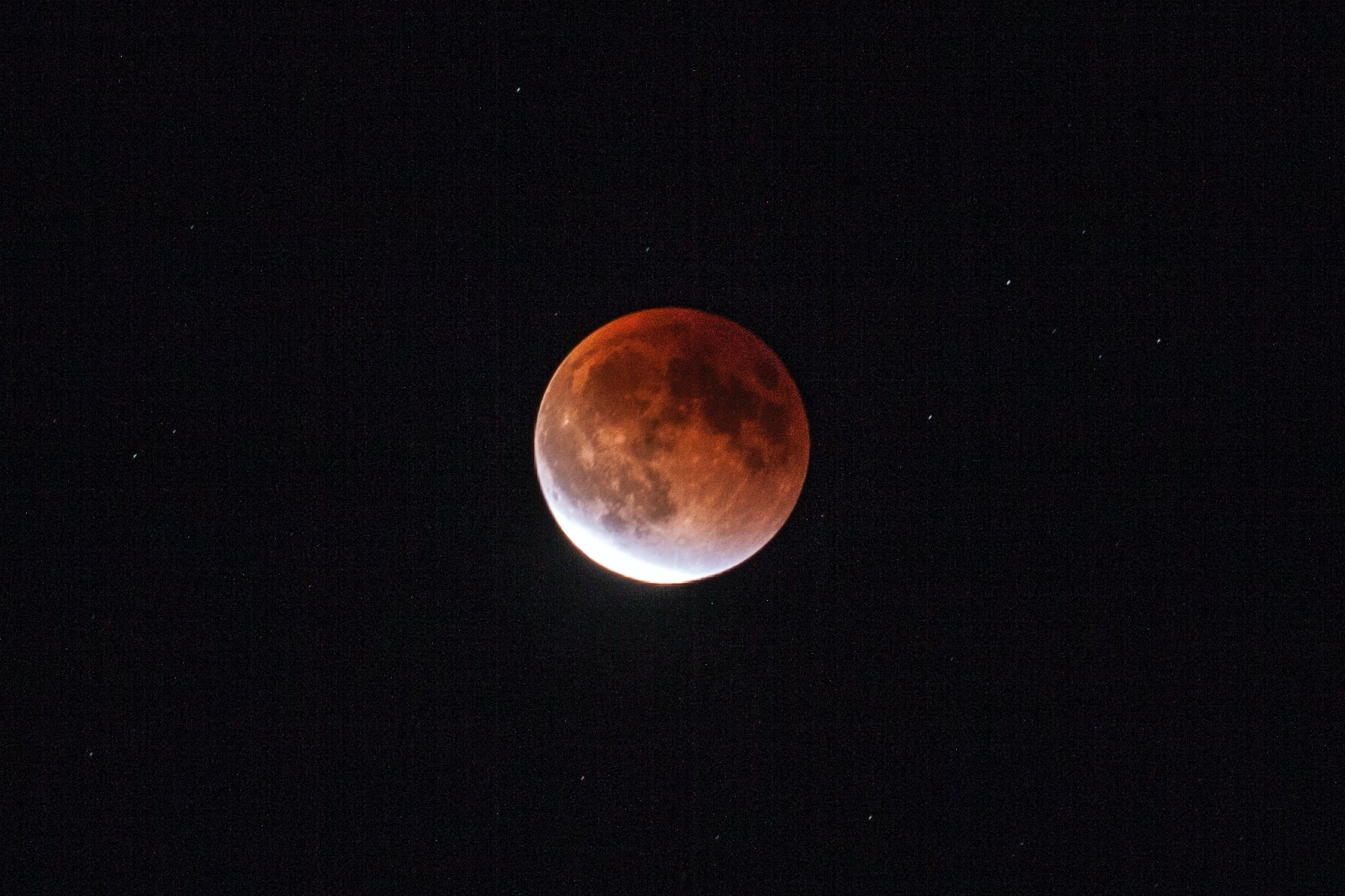 lunar eclipse blood moon Sabrina