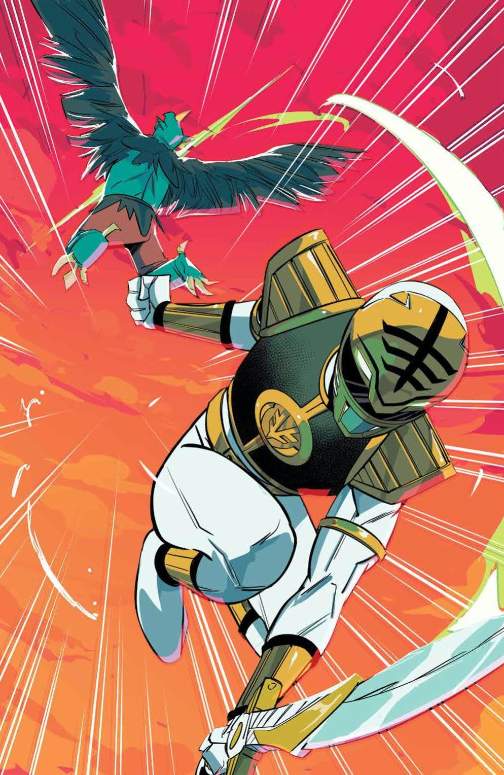 Power Rangers Boom Studios White Ranger