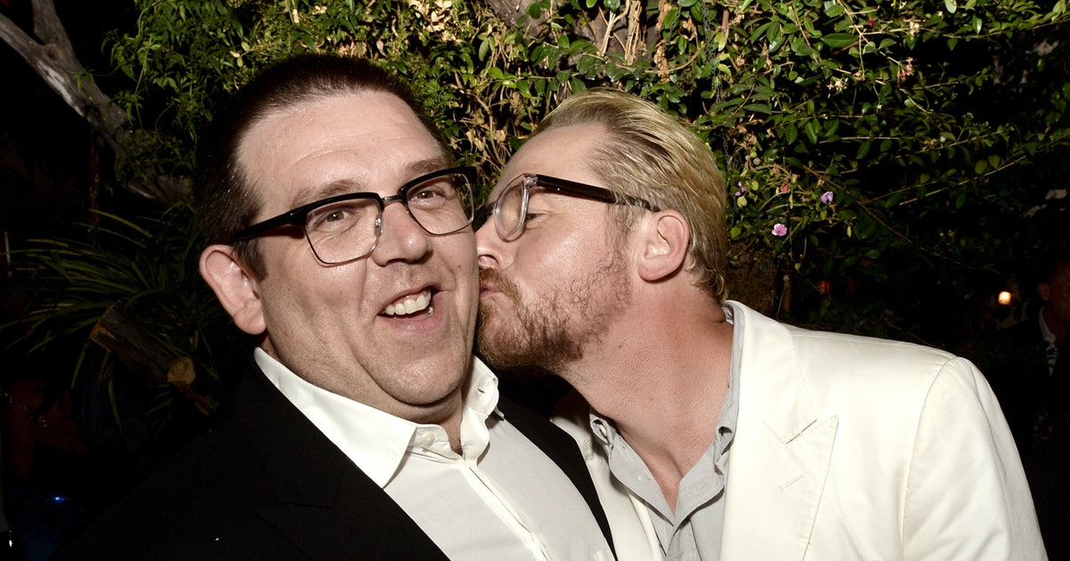 Simon Pegg and Nick Frost Writing a New Project Together