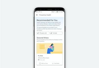 facebook, preventative health, public health.