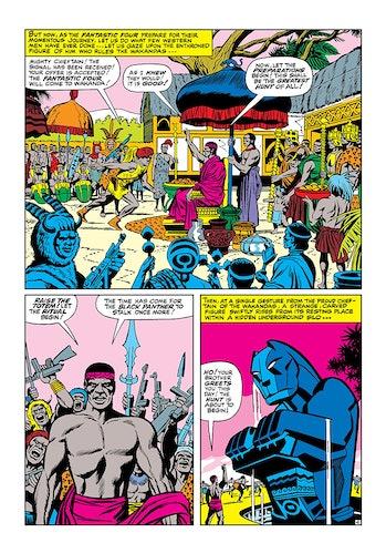 Black Panther Wakanda Fantastic Four