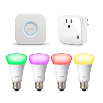 Philips Hue White and Color Ambiance - Starter Kit E26 + free Eve Energy