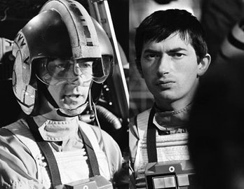 Both actors who played Wedge Antilles