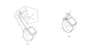 apple watch camera band patent