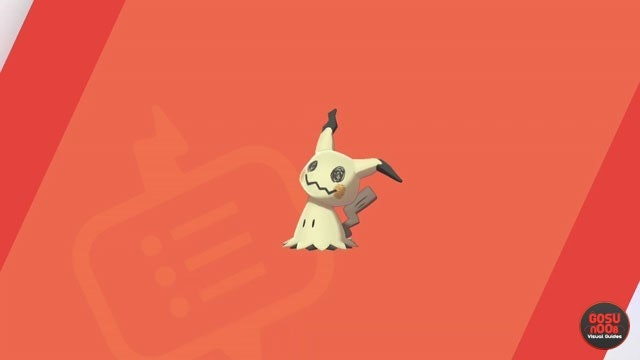 Mimikyu pokemon sword and shield