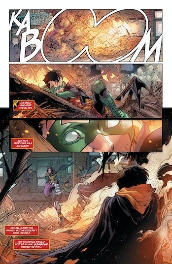 Teen Ttians Special DC Comics