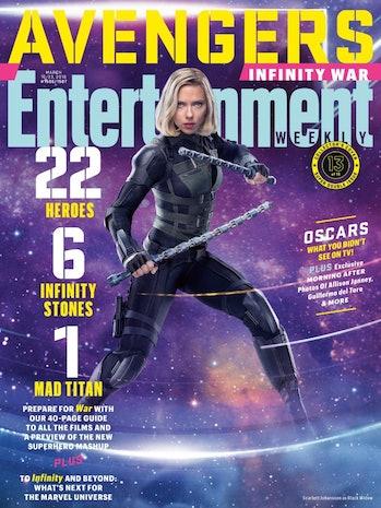 Black Widow Avengers Infinity War