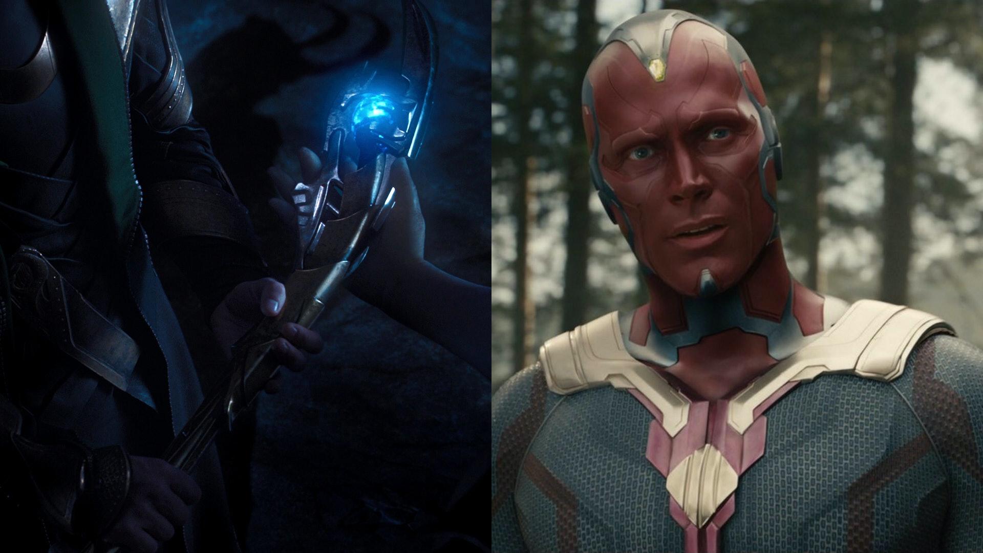 Mind Stone Infinity War Vision