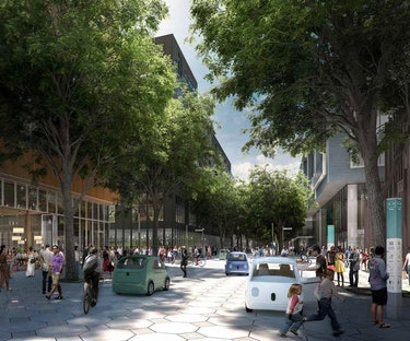 Smart City Quayside Google Sidewalk Labs