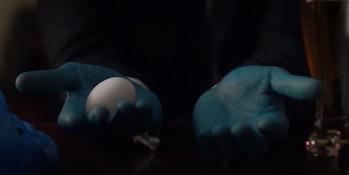 Doctor Manhattan's egg.