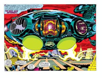 Jack Kirby Eternals Ship Thor Ragnarok