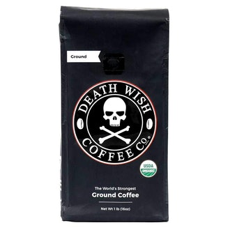 Death Wish Ground Coffee, Dark Roast