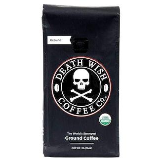 Death Wish Ground Coffee, Dark Roast