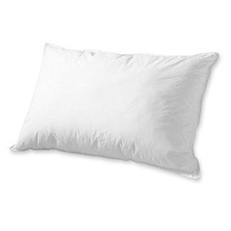 eLuxurySupply Dacron Memorelle Bed Pillow - Overfilled Down Alternative Hypoallergenic Fill