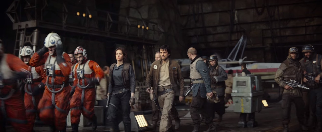 The Rebel Alliance in 'Rogue One'