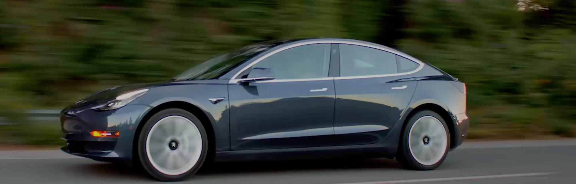 Tesla Model 3's Promising Stats Revealed in Leaked Elon ...
