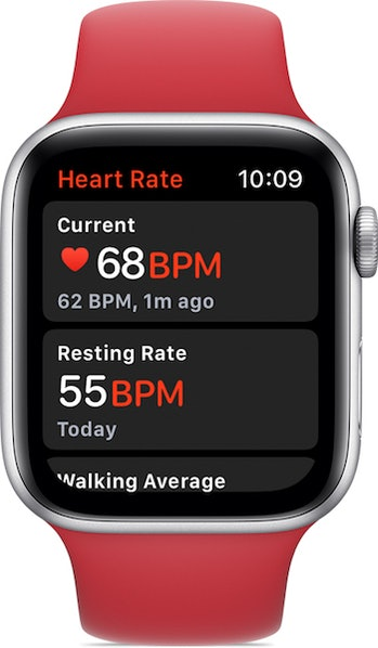 apple watch series 4 heart rate monitor