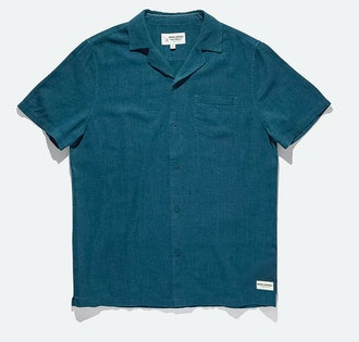 Banks Journal Business and Pleasure Co. Linen SS Shirt