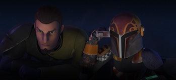 Kanan and Sabine in 'Rebels'