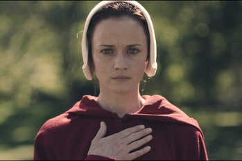 Alexis Bledel in 'The Handmaid's Tale'