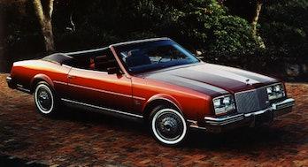The 1982 Buick Riviera convertible.