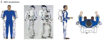 The tetraplegic patient was able to take 480 steps with the help of an exoskeleton suit