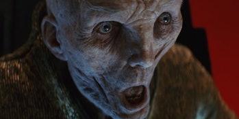 'The Last Jedi' Snoke Death