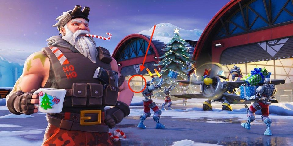 Fortnite Snowfall Week 3 Loading Screen