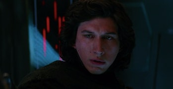 Kylo Ren is like WHOA