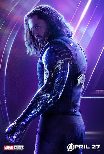 Marvel Avengers Bucky Winter soldier